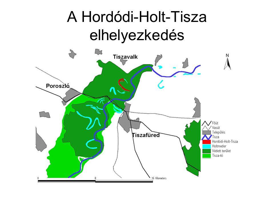 A Hordódi-Holt-Tisza elhelyezkedés