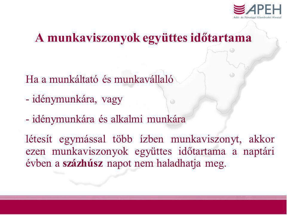 17 A munkáltató nem fizet közterhet •Ha a munkavállaló a szociális biztonsági rendszereknek a Közösségen belül mozgó munkavállalókra, önálló vállalkozókra és családtagjaira történő alkalmazásáról szóló közösségi rendelet, vagy a Magyar Köztársaság által kötött kétoldalú szociálpolitikai, szociális biztonsági egyezmény (a továbbiakban: egyezmény) alapján másik tagállamban, illetőleg •egyezményben részes másik államban biztosított, és erről igazolással rendelkezik.