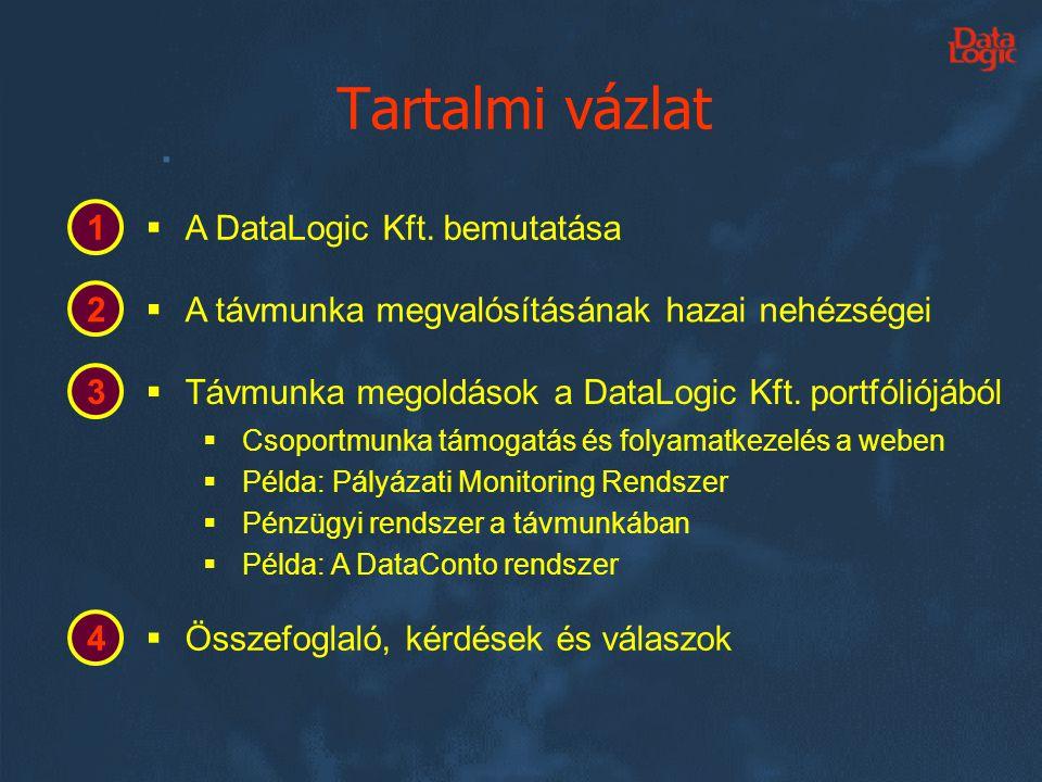 •Alapítva 1999-ben •35 fős dinamikus csapat –25 fejlesztő.