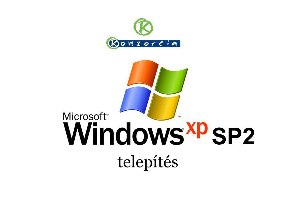 telepítés SP2