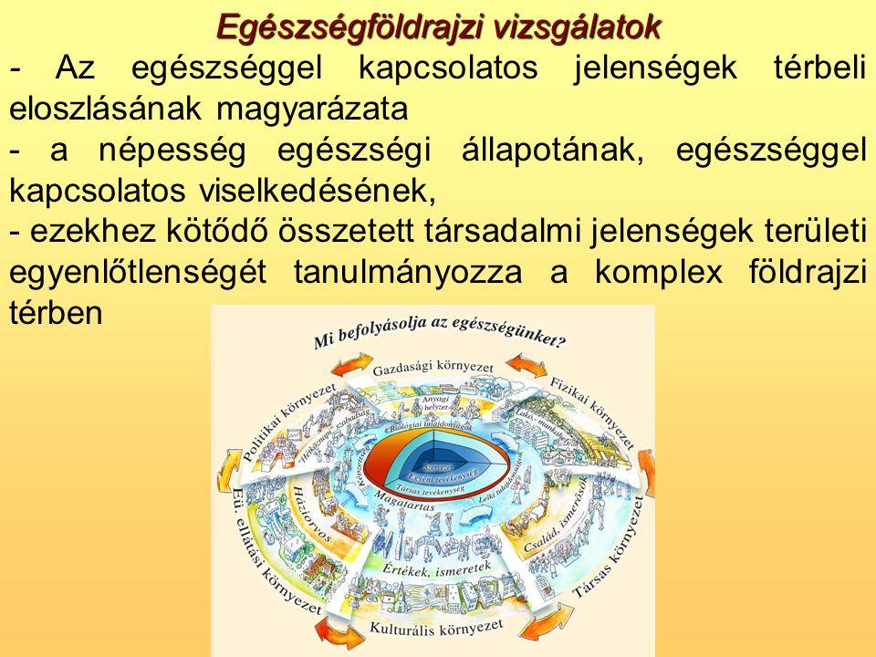 •A projekt keretein belül az egészségi állapot és az ünnepek összefüggései is vizsgálhatóak, pl.