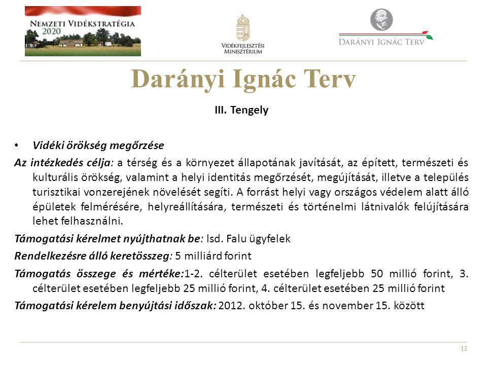 13 Darányi Ignác Terv III.