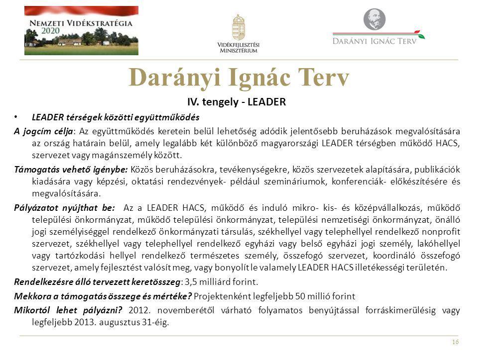 16 Darányi Ignác Terv IV.