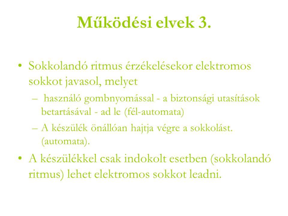 Működési elvek 3.