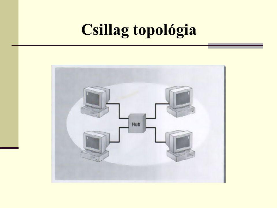  Hálózati kártya A hálózat kialakítása