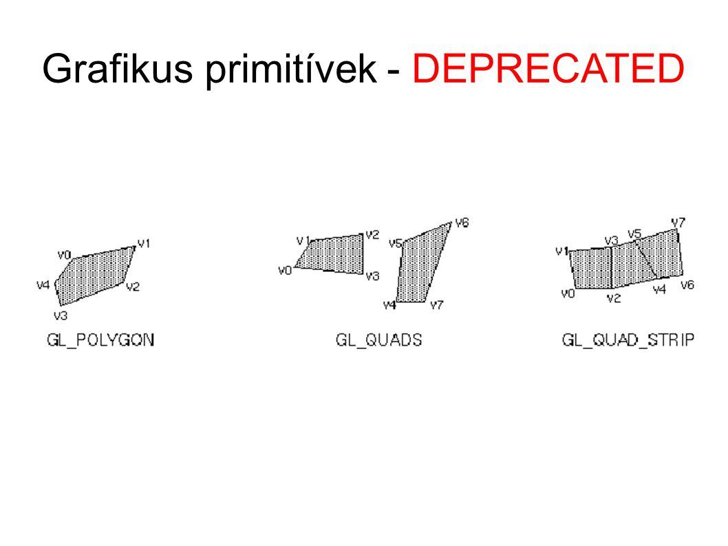 Grafikus primitívek - DEPRECATED