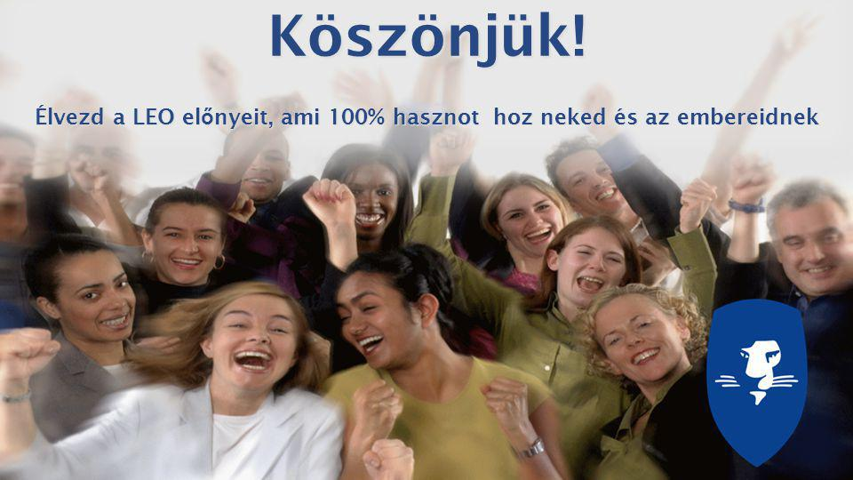 Learn – Earn – Own   All rights reserved 2013 Learning Enterprises Organisation LtdKöszönjük.