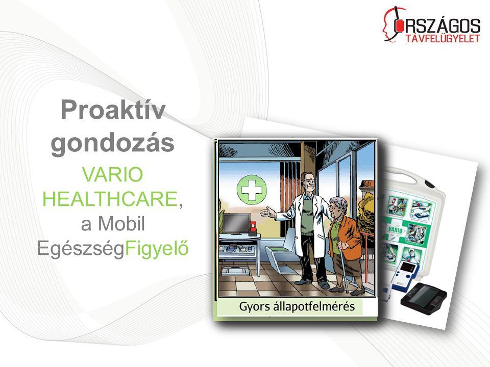 Proaktív gondozás VARIO HEALTHCARE, a Mobil EgészségFigyelő