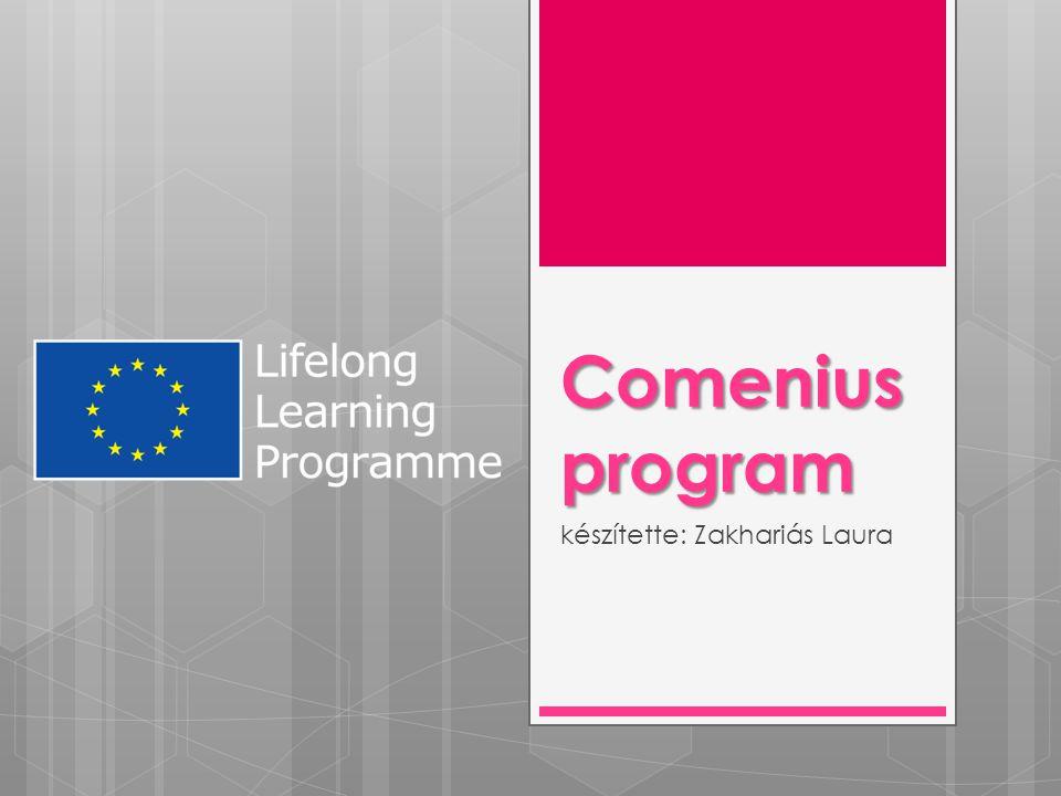 Comenius program készítette: Zakhariás Laura