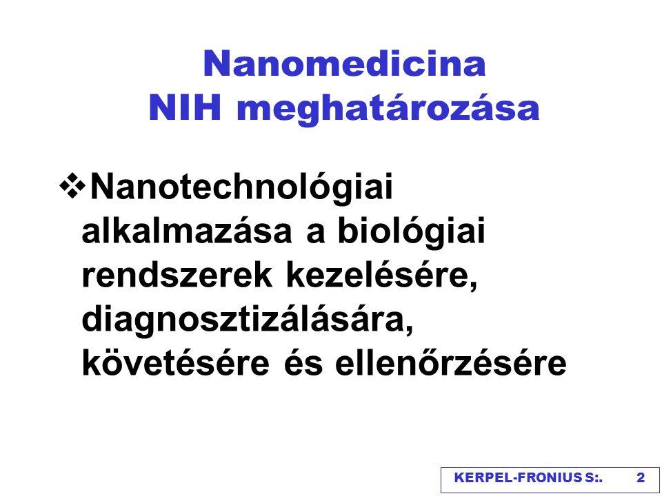 Nanorészecskék nagysága KERPEL-FRONIUS S. 3
