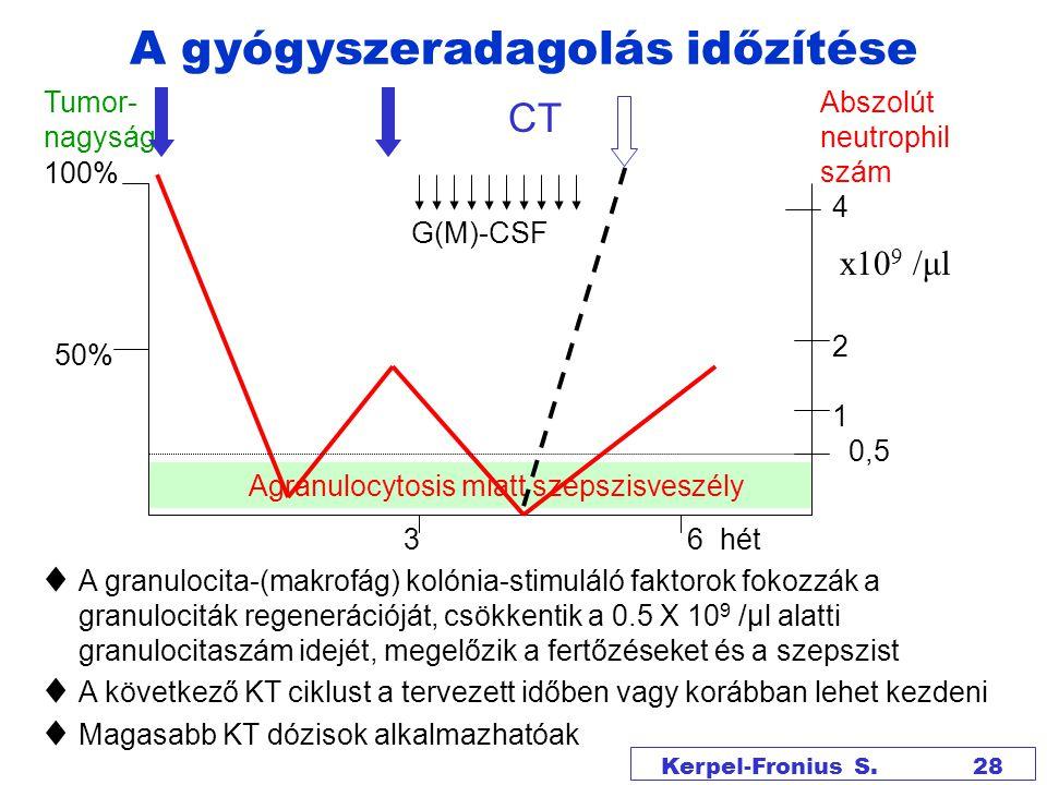 KERPEL-FRONIUS S: 29 Összehasonlító farmakokinetikai és farmakodinámiás vizsgálat terve Filgrastim Ratiopharm.