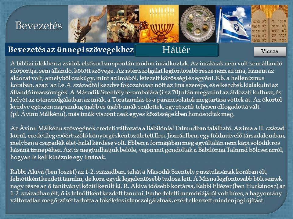 Áttekintés Háttér Források Oktatási célok Az óra ajánlott felépítése Liturgia 3.