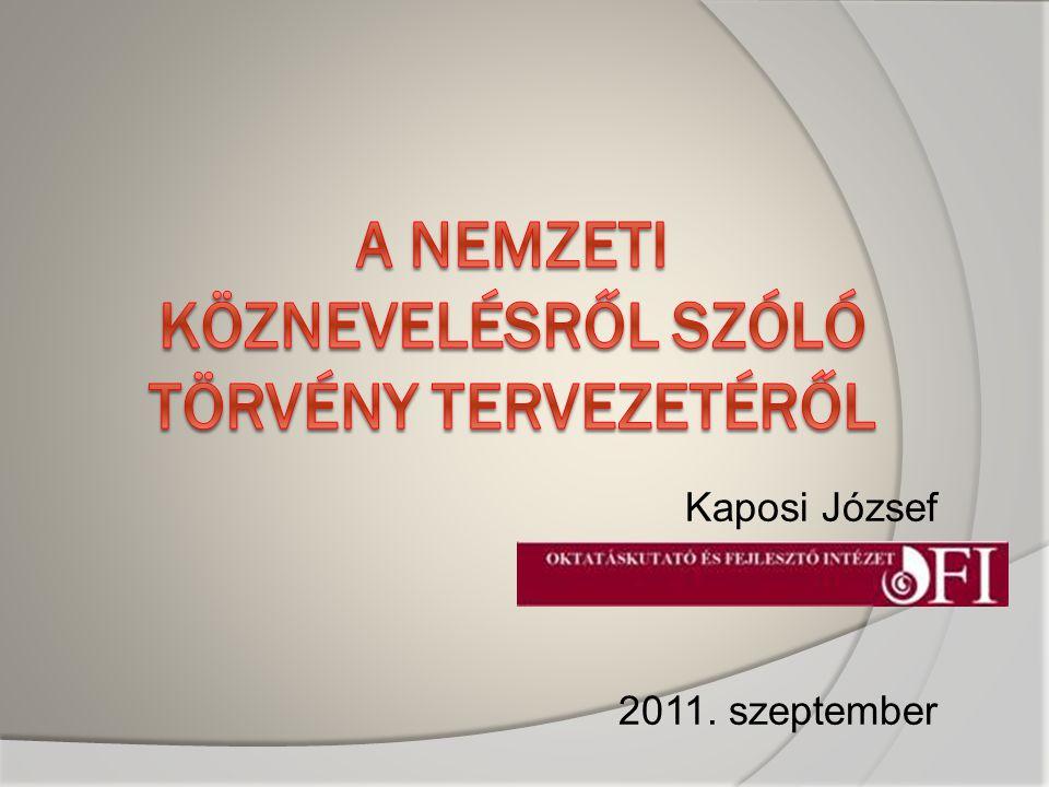 Kaposi József 2011. szeptember