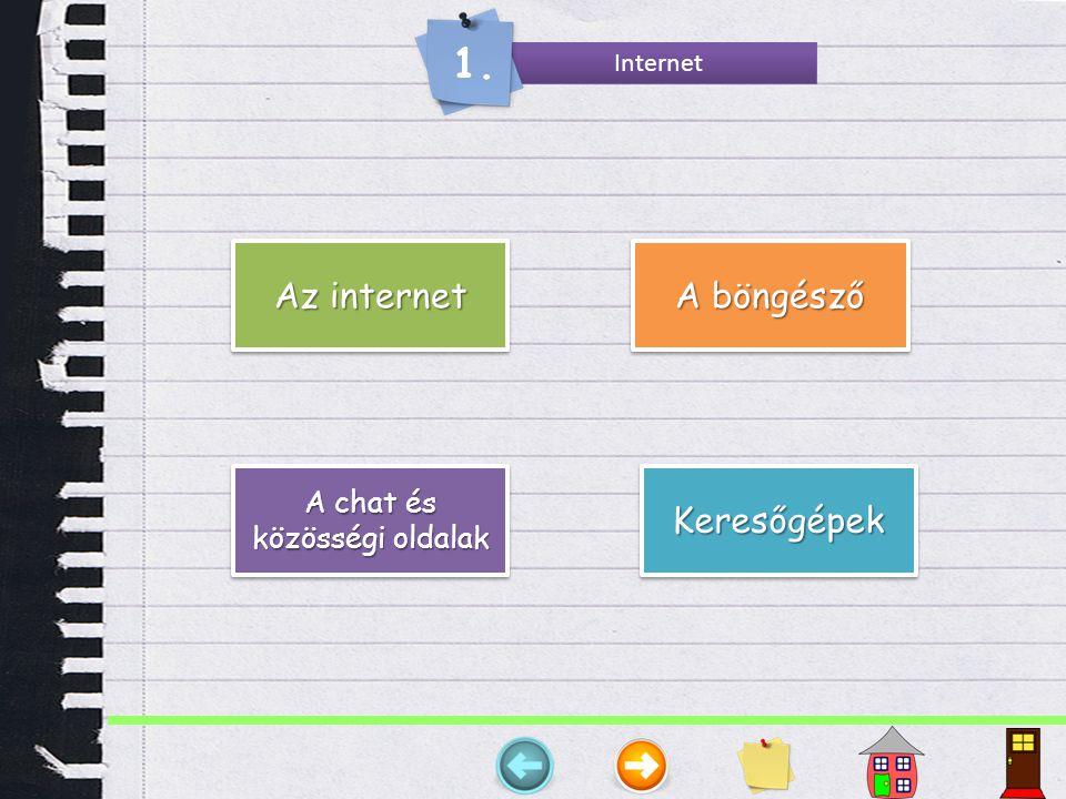 Az internet Az Internet szó két részből tevődik össze: az inter -ből, (latin: között) és a net -ből, (az angol network , hálózat rövidítése) szavakból.