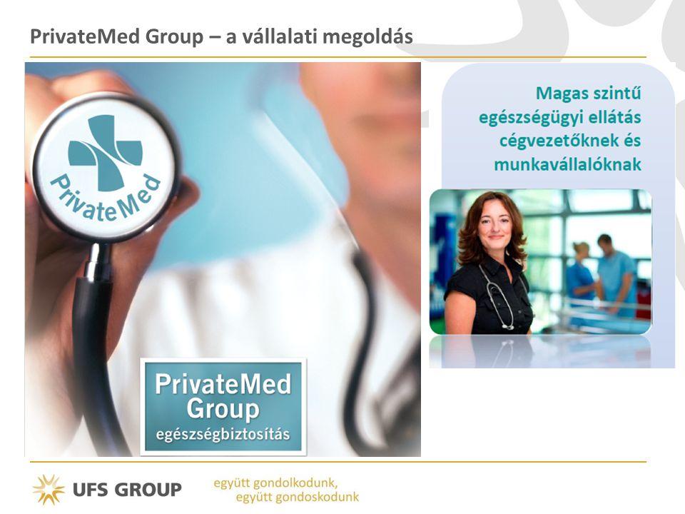 PrivateMed Group – a vállalati megoldás