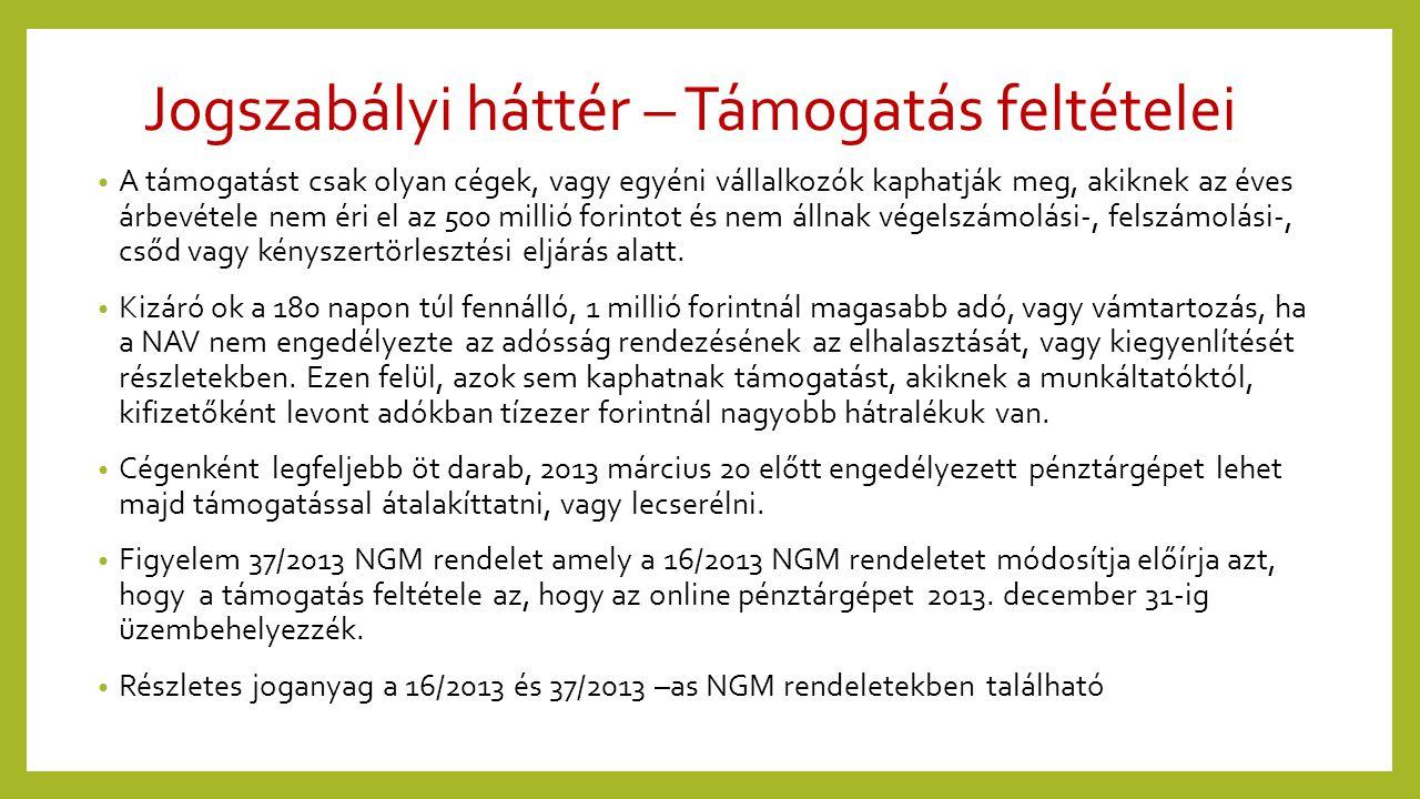 Jogszabályi kötelesség, de …..• 37/2013 NGM rendelete megengedi 2013.