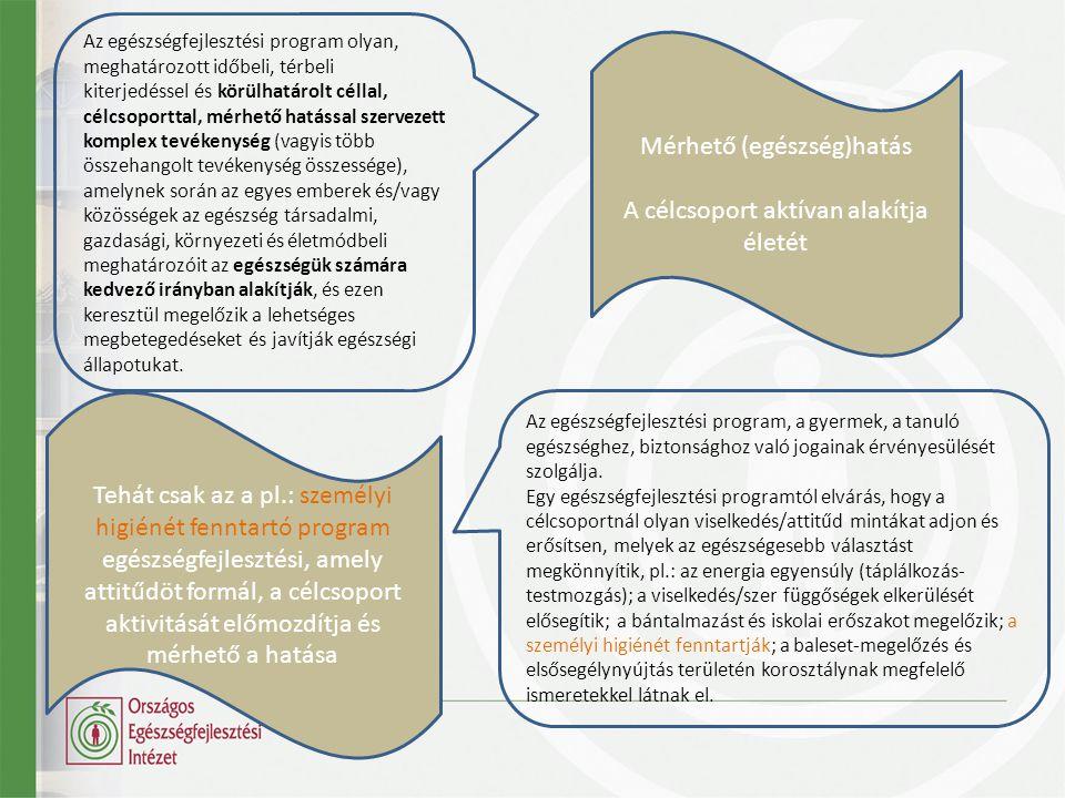Értelmezési keretek Kitérő: indikátorok 