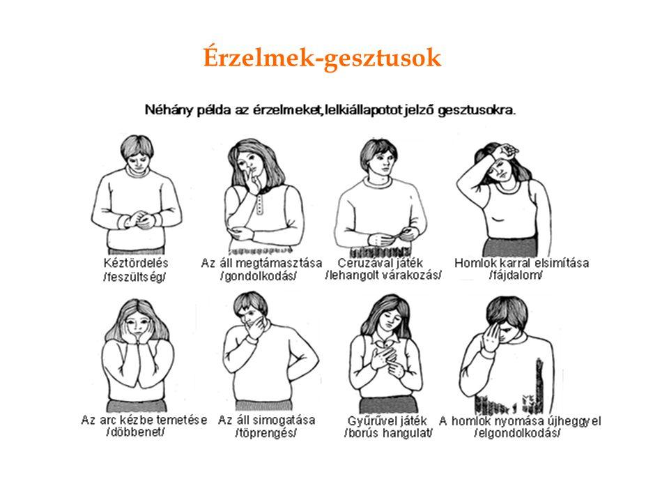Érzelmek-gesztusok