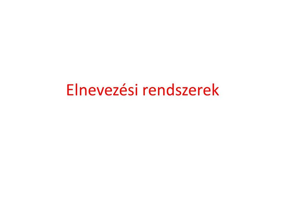 Továbbítómutatók (1) • A (helyettes, váz) párokat használó továbbmutatók elve.