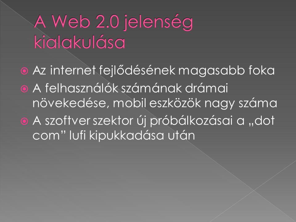 " ""Web 1.0 was commerce."