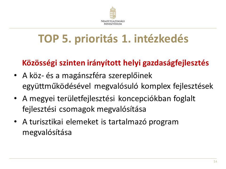 14 TOP 5.prioritás 1.
