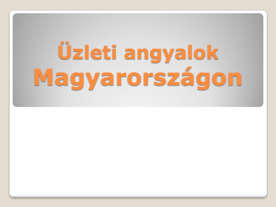 Üzleti angyalok Magyarországon