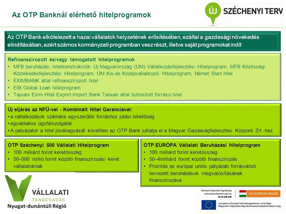 Vállalati Tanácsadás Program 4 Az egyes Regionális Operatív Programok Vállalati Tanácsadás projektjei Egységes Konzorcium által továbbutalandó, M Ft Nyugat-Dunántúli Operatív Program586,5 Dél-Dunántúli Operatív Program420,0 Közép-Dunántúli Operatív Program377,6 Közép-Magyarországi Operatív Program994,0 Összesen2 378,5 A három dunántúli, valamint a Közép-magyarországi Régióban összesen kétmilliárd forint fölötti pályázati forrás áll a vállalkozások rendelkezésére.