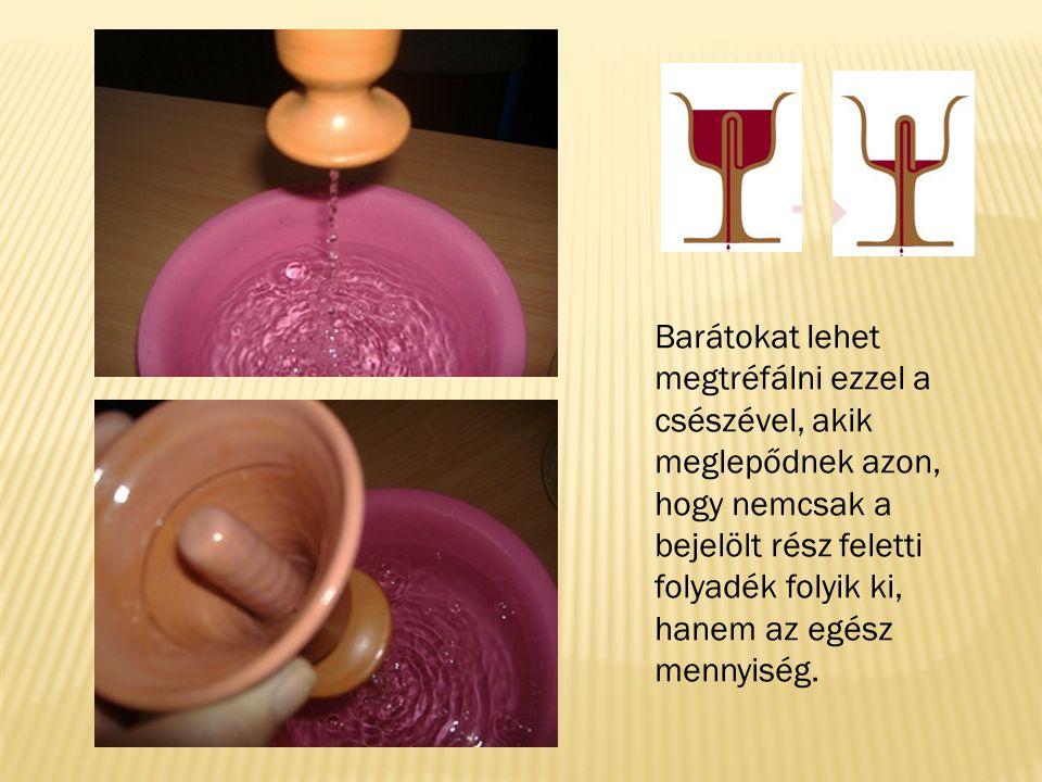 Öveges József professzor nyomdokain haladva nagyon egyszerű anyagokból próbáltam elkészíteni Pitagorasz csészéjét.