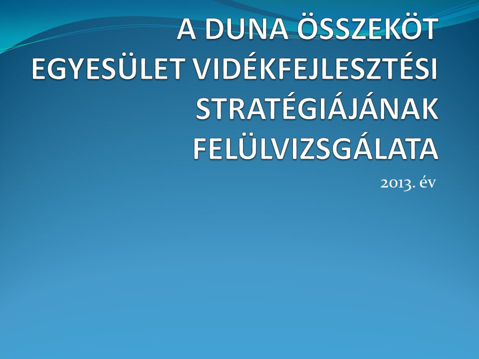 2013. év