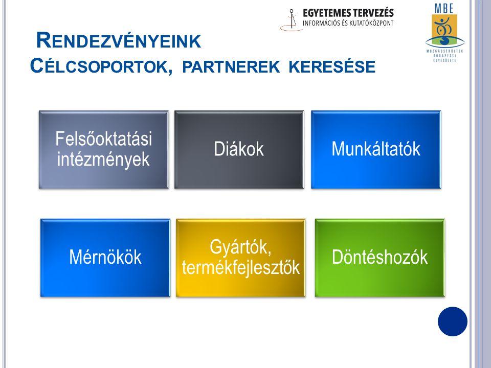 1.A projekt céljait, szolgáltatásait bemutató leporelló 2.
