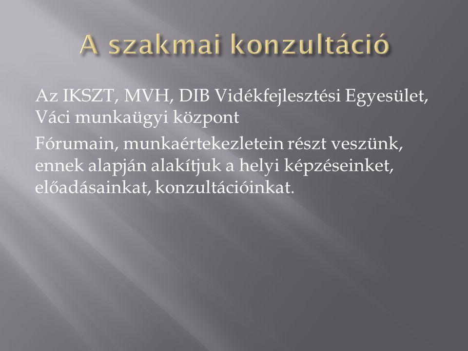 MegnevezésTípusDátum Eredmény leírása Fa megmunkálás tanfolyam2012.