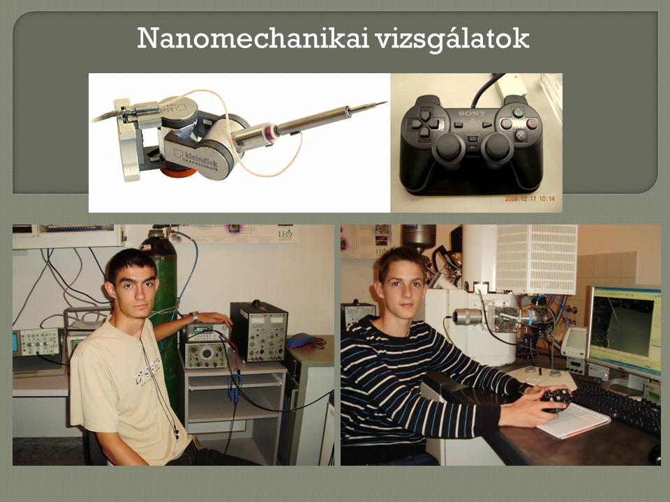 Nanomechanikai vizsgálatok