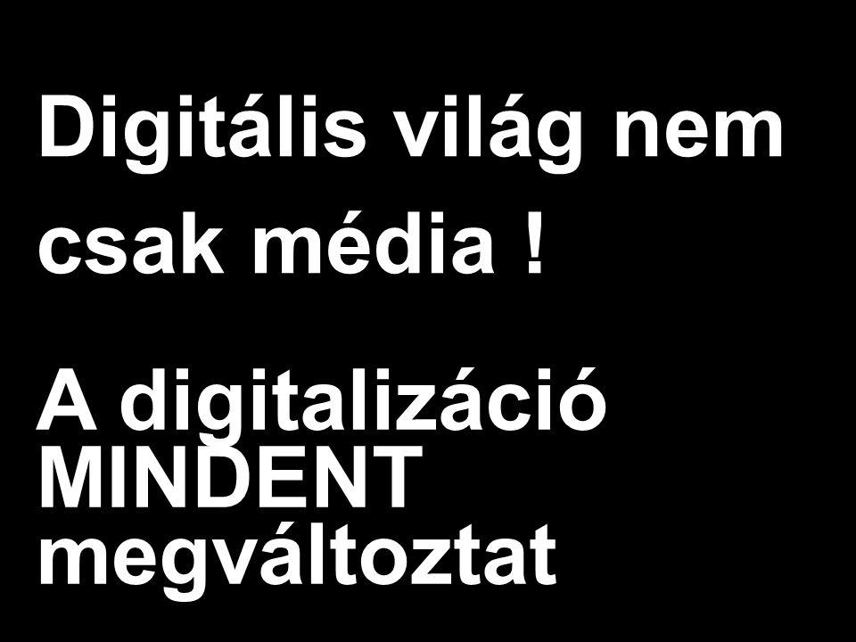 Google Confidential and Proprietary Digitális világ nem csak média .