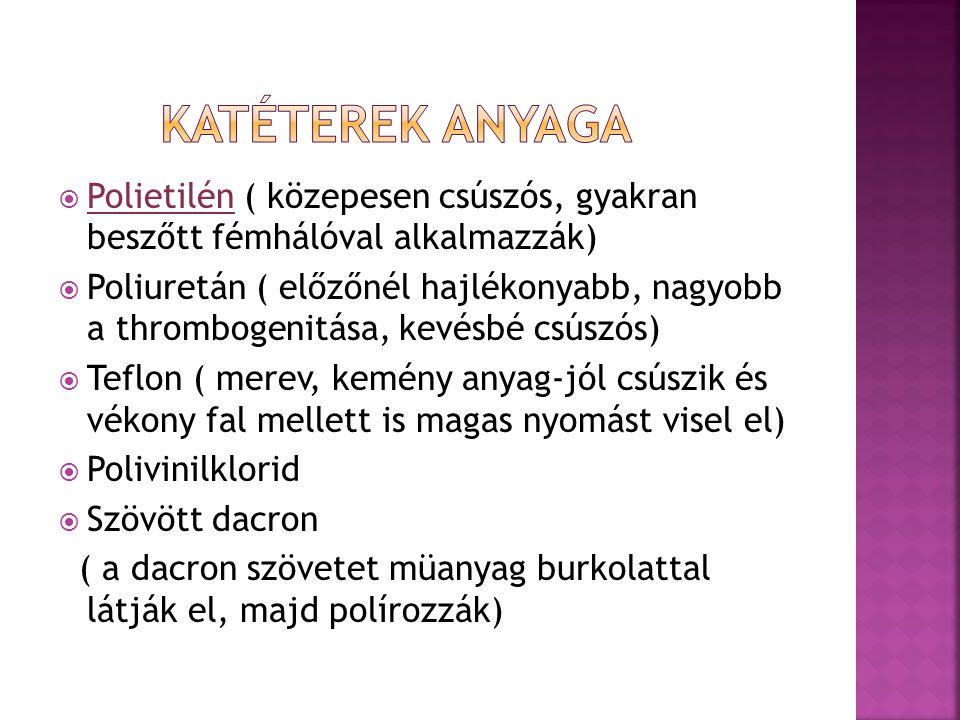 FŐTÖRZSI KATÉTEREKSELEKTÍV KATÉTEREK  PIGTAIL  OMNI-FLUSH  SUPRAAORTICUS KATÉTEREK (VERT,JB, SIM, H,MANI )  ZSIGERI KATÉTEREK ( C, MPA, SHK, RDC )