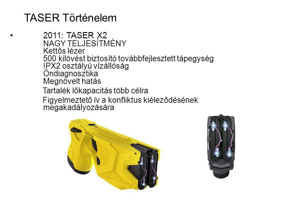 •2012: AXONflex S zemélyre telepített kamera rendszer.