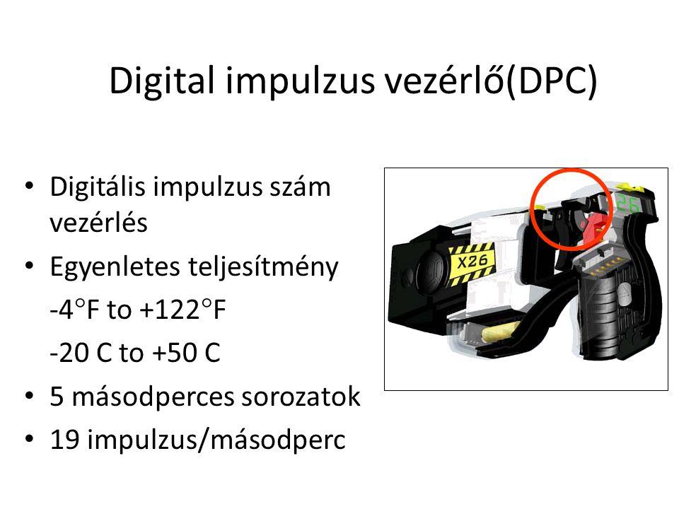 X26 ECD Dataport Illesztő készlet külön rendelendő •X26 ECD USB Dataport –Idő, dátum, időtartam, temp, telep állapot minden lövésnél (2,000) –Védett csatlakozás inside DPM slot –Titkosított adatfájlok –Időszaki letöltések –USB plug & play