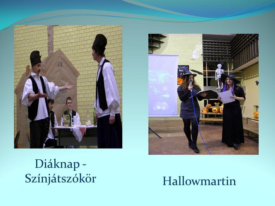 Diáknap - Színjátszókör Hallowmartin