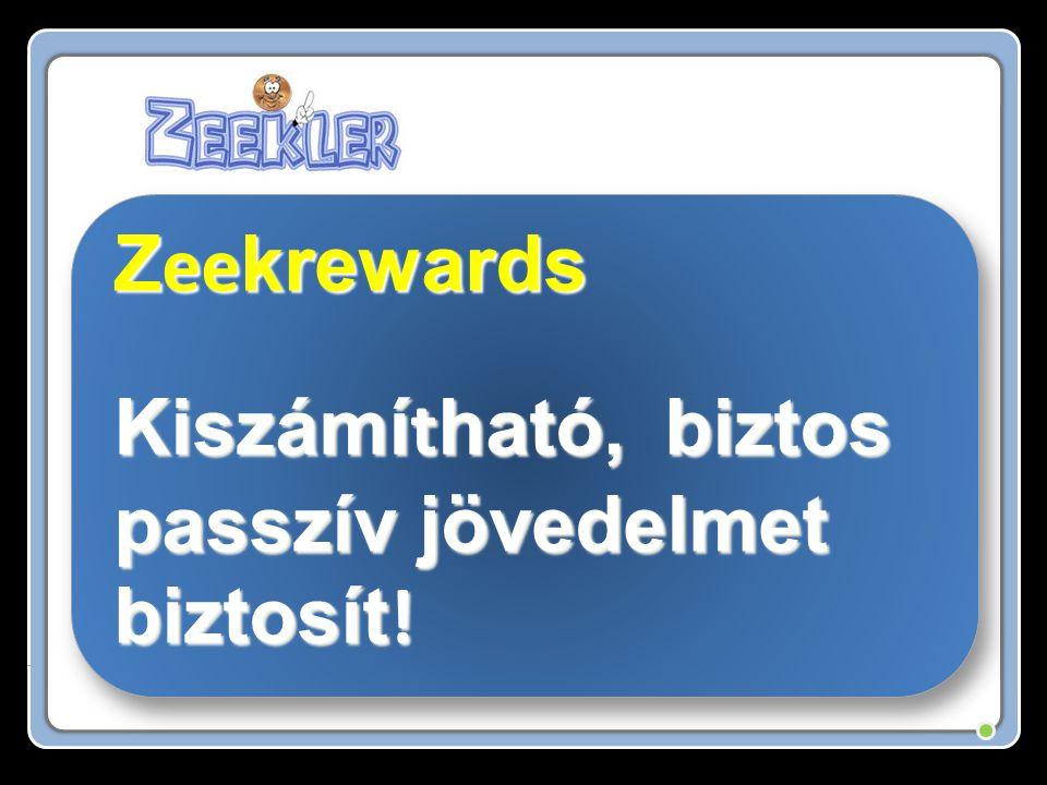 Z ee krewards Kiszámí t ható, biztos passzív jövedelmet biztosít .