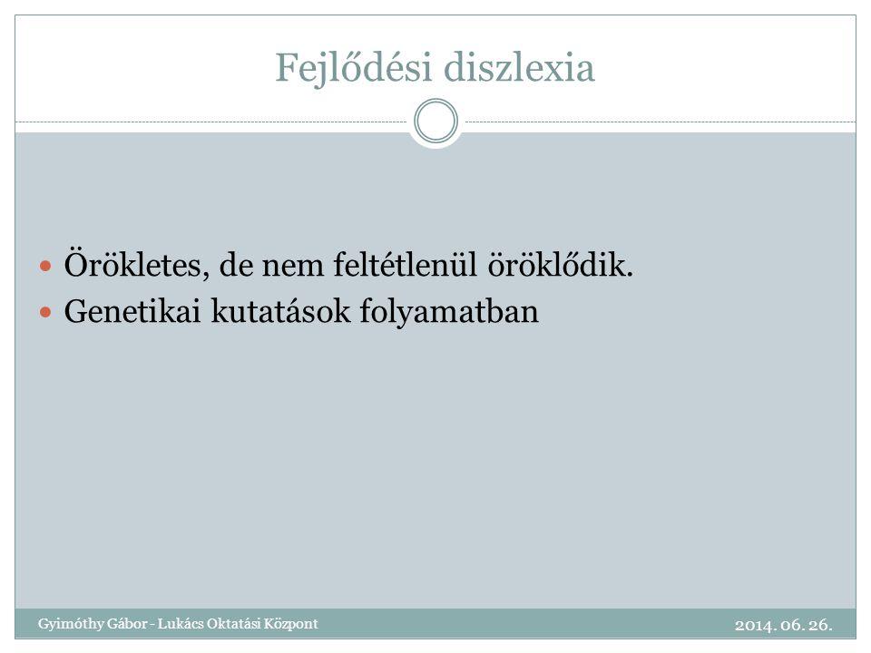 ALAKI, FORMAI ELTÉRÉSEK Írásminták 2014. 06. 26. Gyimóthy Gábor - Lukács Oktatási Központ