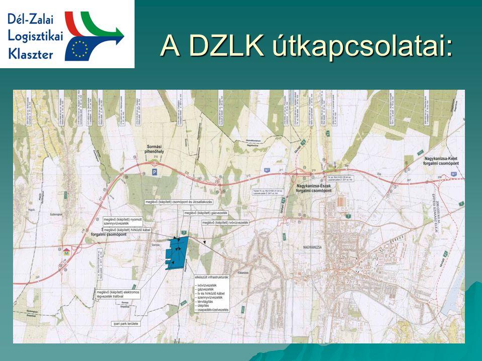 A DZLK útkapcsolatai: A DZLK útkapcsolatai: