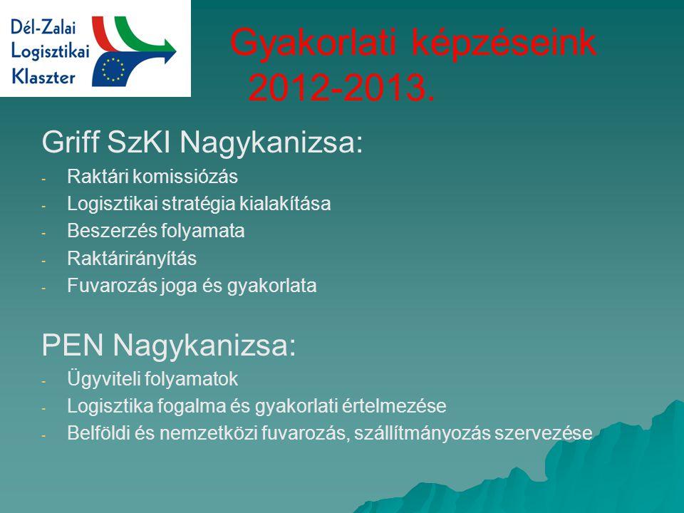 Gyakorlati képzéseink 2012-2013.