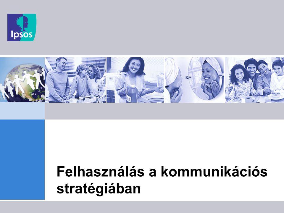 """8 Széleskörű felhasználhatóság Az egészségstílus az életmód legfontosabb aspektusa, ami a fogyasztói magatartásnak rengeteg aspektusát meghatározza:  élelmiszer-fogyasztás  élvezeti cikkek  közszükségleti cikkek  gyógyszerfogyasztás  szabadidős tevékenységek  média-fogyasztás (elsősorban életmód és szabadidő jellegű tartalmak) Az egészségmagatartás szerinti profilok (""""egészség-stílusok ) homogén közönségek, akikkel eltérően kell kommunikálni."""