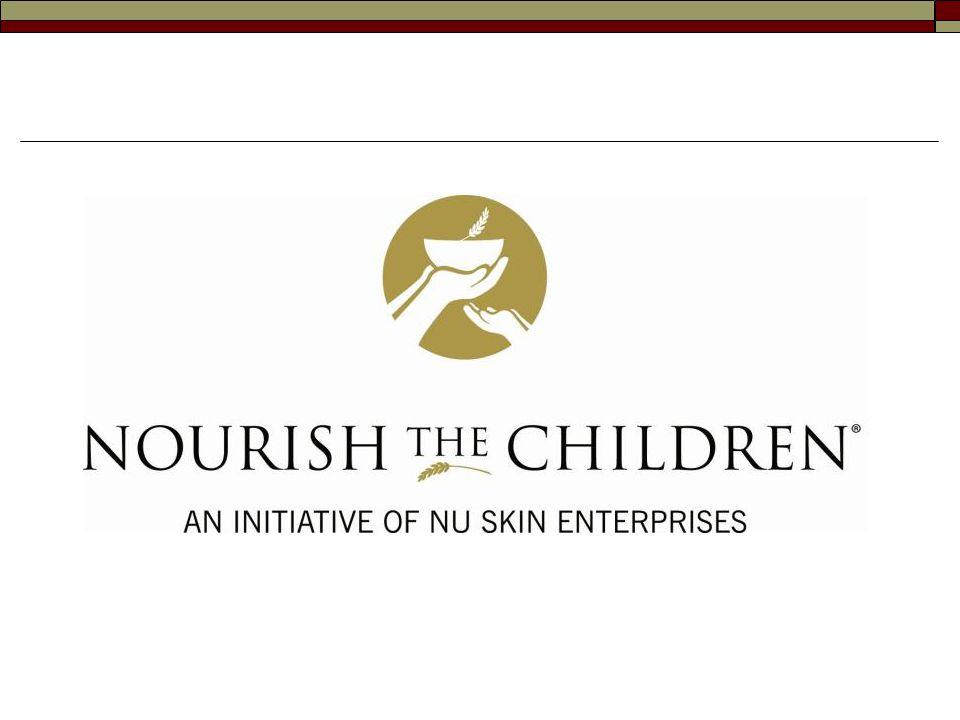 A Nu Skin ® küldetése Küldetésünk, hogy jobbító erő legyünk világszerte, lehetőséget nyújtva az embereknek életük jobbá tételére kifizetődő üzleti lehetőségekkel, innovatív termékekkel valamint gazdagító, felemelő kultúrával. A Nourish the Children ® (NTC) (Tápláld a Gyermekeket!) kezdeményezés a világ éhes gyermekeinek táplálása érdekében egyesíti a Nu Skin ® -t és a kiterjedt üzletépítői hálózatot.