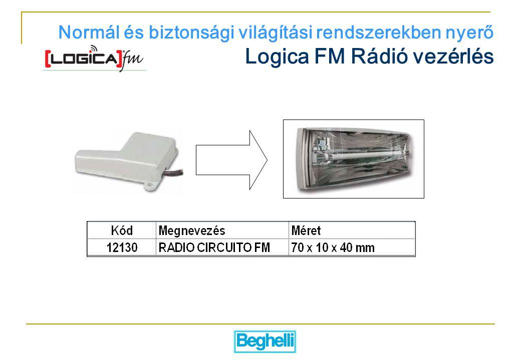Logica FM Rádió vezérlés