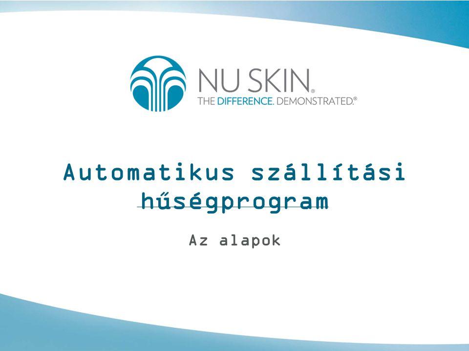 Automatikus szállítási hűségprogram Az alapok