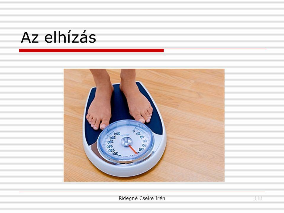 Ridegné Cseke Irén111 Az elhízás