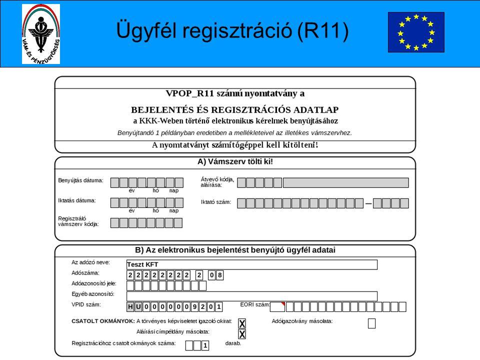 Ügyfél regisztráció (R11)