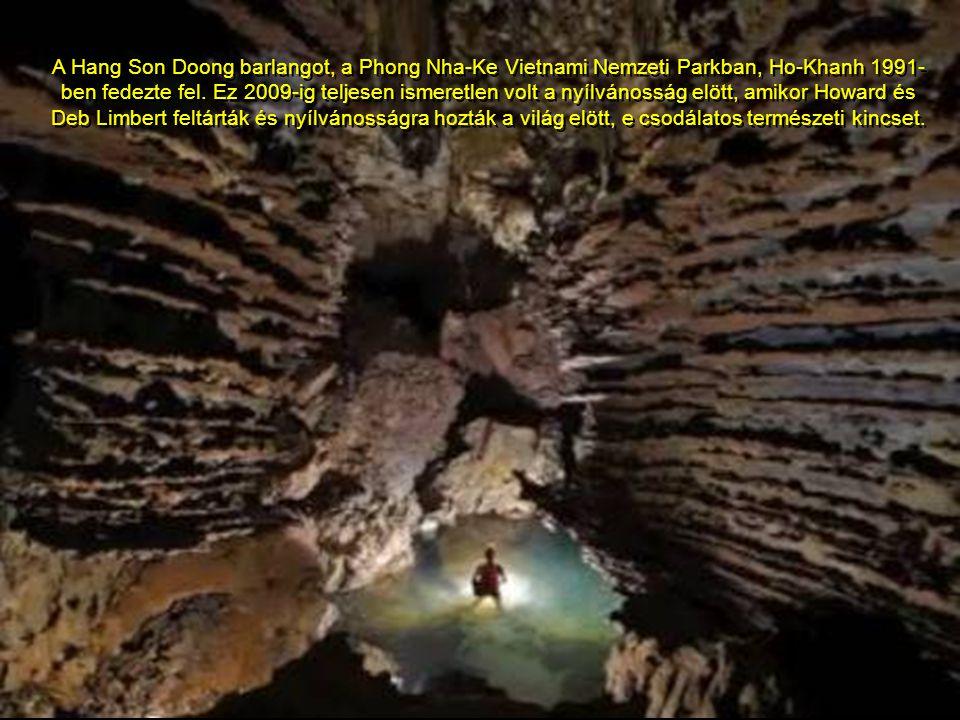 The cave is located near the Laos- Vietnam border. A barlang a Laos-Vietnami határ közelében található.
