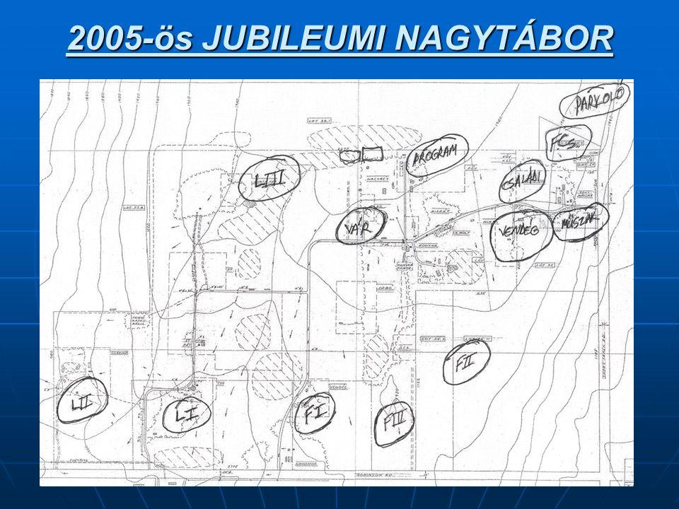 2005-ös JUBILEUMI NAGYTÁBOR