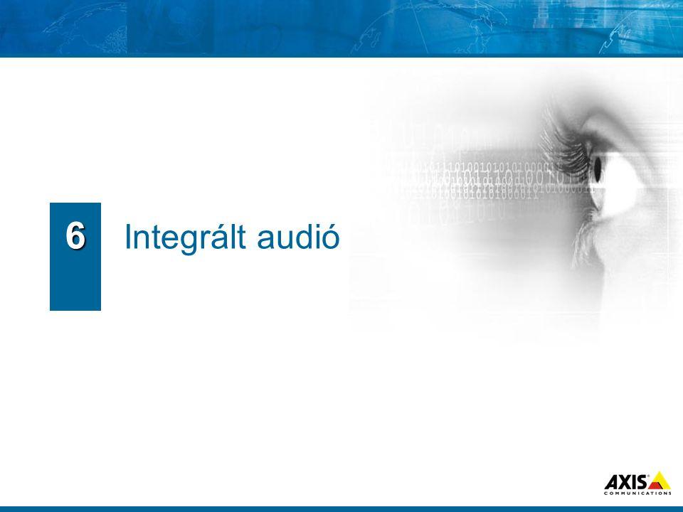 Integrált audió 6
